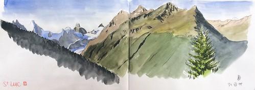 Saint Luc, Valais