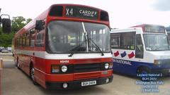LEYLAND NATIONAL MK2 BUH 240V BRISLINGTON BUS RALLY 09082015 (MATT WILLIS VIDEO PRODUCTIONS) Tags: bus buh rally national mk2 leyland 240v brislington 09082015