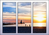St Joseph Lighthouse triptych (hz536n/George Thomas) Tags: 2014 canon5d ef1740mmf4lusm lake michigan summer sunset lighthouse stjoseph triptych cs5 copyright greatlakes beach