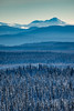 Mt Purden (robertdownie) Tags: trees canada sky mountains blue white snow bc rockies british columbia layers foothills prince george pg purden