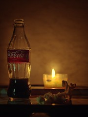 Fizzy drink, potato chips and candles (-pops83-) Tags: happynewyear celebration 52stilllifes 7dwf
