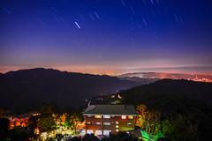 雲洞星動(DSC_5958) (nans0410(busy)) Tags: taiwan miaoli outdoors startrack sky scenery 台灣 苗栗縣 大湖鄉 雲洞山莊 星軌 三義鄉