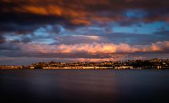 Lookout behind you, Ahuriri (ajecaldwell11) Tags: longexposure hawkesbay newzealand sunset napier water clouds sky ahuririestuary ahuriri tide westshore light