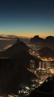 Happy 2017! - Blue Hour @Sugar Loaf, Rio de Janeiro, Brazil