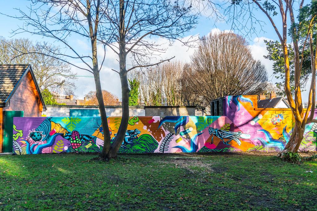 NEW STREET ART AND NEW TEAROOMS [HERBERT PARK DUBLIN]-124045
