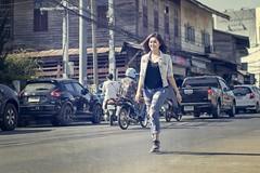Girl Thailand (♥siebe ©) Tags: 2016 thai thailand ประเทศไทย เมืองไทย ไทย outdoor vintage road girl ผู้หญิง texture woman