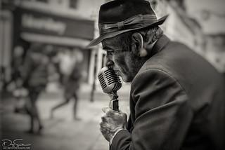 Street portrait of jerry