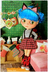 Christmas Album 2016  7 of 23 (Heike Andrea Grote ♥️) Tags: heikeandreagrote blythe ネオブライス 人形 カスタムブライス licca basaak blythedoll blythestagram blythephotgraphy blythecustom instadolls dollphotography monchhichi japan doll cute kawaii pictureoftheday photooftheday bestoftheday picoftheday christmas weihnachten merrychristmas tannenbaum