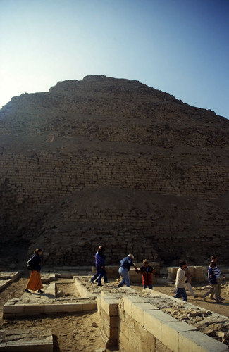 Ägypten 1999 (574) Kairo: Djoser-Pyramide, Sakkara