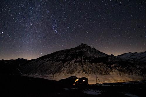 Milkyway in the Alps