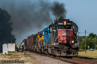 SP 8690 | EMD SD40M-2 | UP Hoxie Subdivision