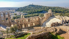 Odeio Irodou Attikou (Photo_hobbyist) Tags: monument theater greece greek civilization culture athens acropolis