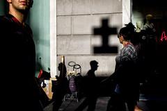 fragments 2 (michele liberti) Tags: streetphotography streetcolor fragments urbanscene shadowandlight shadow cross epl1 olympus naples napoli italy