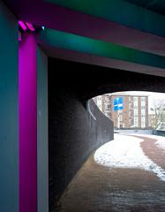 _DSC2668 (durr-architect) Tags: tunnel vision herman kuijer light installation dutch underpass zutphen netherlands architecture art designer artist colourful luminescent motorists cyclists pedestrians time space kcap baljon baauw royal haskoning dhv bam prorail train railway