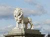 The South Bank Lion, Westminster Bridge, London, Feb 2016 (allanmaciver) Tags: woodington lion south bank london england capital style class king george 1837 preserved magnificent imposing look royal allanmaciver