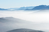 Lainoak artean (Entre nieblas) (Javi Diez Porras) Tags: paisajes niebla montañas