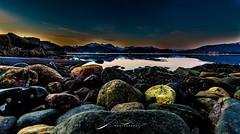 Colored stones (©jforberg) Tags: 2017 color cloud colors canon5d city care aalesund beautiful beauty beach sea seaside stones