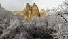 hair frost valley (werner boehm *) Tags: wernerboehm cappadocia kappadokien turkey türkei fog hairfrost raureif