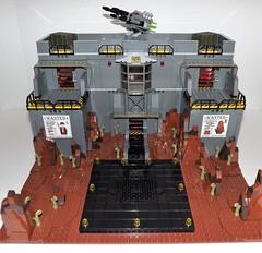 DSCF2214 (Nilbog Bricks) Tags: star wars lego moc minifigures stormtrooper base barracks