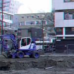 aanleg Nieuw park Laurenskerk Rotterdam 3D thumbnail