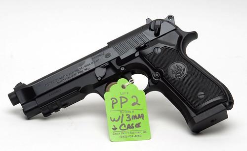 Beretta 9mm Pistol ($550.00)