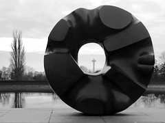 Black Sun (Project: onewe) Tags: isamunoguchi blacksun volunteerpark seattle
