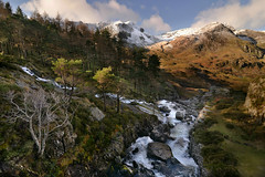 How beautiful is Snowdonia? (PentlandPirate of the North) Tags: ogwen snowdonia mountains snow river rocks boulders northwales landscape gwynedd