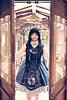 SDF_1703 (SendoFu) Tags: bonnet ボンネット エプロン風スカート blouse bl ブラウス headbow kc カチューシャ bnt 蕾絲 維多利亞 jsk op onepiecedress ワンピース jumperskirt ジャンパースカート nop lolita lolitafashion 蘿莉塔 蘿莉塔時裝 ロリータ・ファッション sweetlolita classicallolita