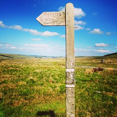 Very sunny but windy walk on #rishworthmoor today #pennineway (mrs_b_1975) Tags: square squareformat mayfair iphoneography instagramapp uploaded:by=instagram