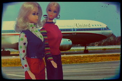 I'm FREE! (DeanReen) Tags: vintage 1971 mod friendship barbie malibu era 1972 unitedairlines 1182 7703 1970sbarbie walklivelybarbie barbiegetupsngo walklivelybarbievariation authenticunitedairlinesstewardessfashions
