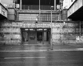 S-Bahnhof Schöneberg Linhof 4X5