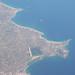 Náxosz szigete a repülőtérrel