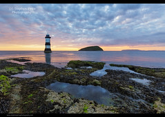 Penmon Point (Steve-P2010) Tags: ocean lighthouse wales sunrise dawn coast anglesey northwales penmon appicoftheweek