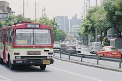 Bangkok (jonasfj) Tags: bus film analog thailand 50mm nikon kodak bangkok sunny mirrored fa ais f12 nikonfa ektar c41 filmphotography kodakektar 5012ais