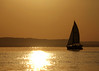 Sunset Sail (DewCon) Tags: silhouette sailboat lakepepin