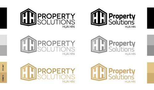 Property Solution Hua Hin Logo Design