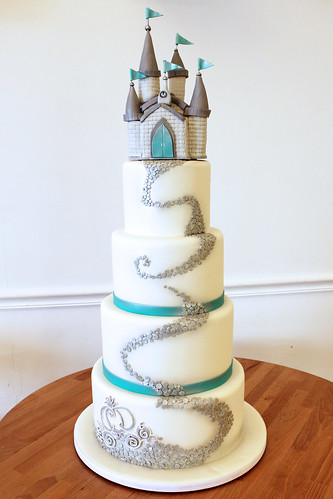 Cinderella's Castle Wedding Cake