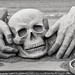 Skull and Hands