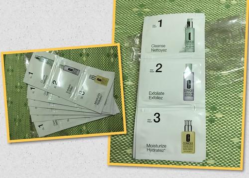 在倩碧 Clinique 台北新光站前店 第一次靠櫃的心得~倩碧三步驟 保養品分享