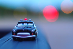 Patroling (GOJR.) Tags: inexplore car bokeh olympusomdem10 helios442 outdoor outoffocus toy