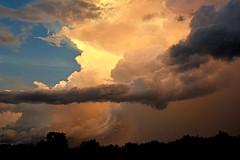 Roll Cloud (NaturalLight) Tags: sunset kansas thunderstorm wichita cumulonimbus rollcloud chisholmcreekpark arcuscloud