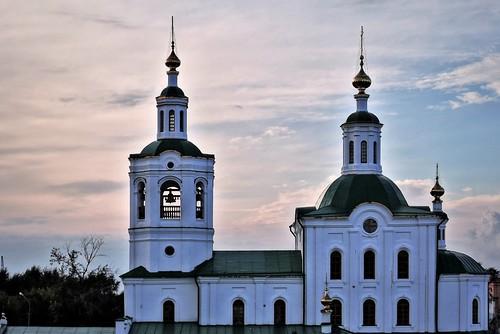 Вознесенско-Георгиевская церковь, XVIII в. Тюмень