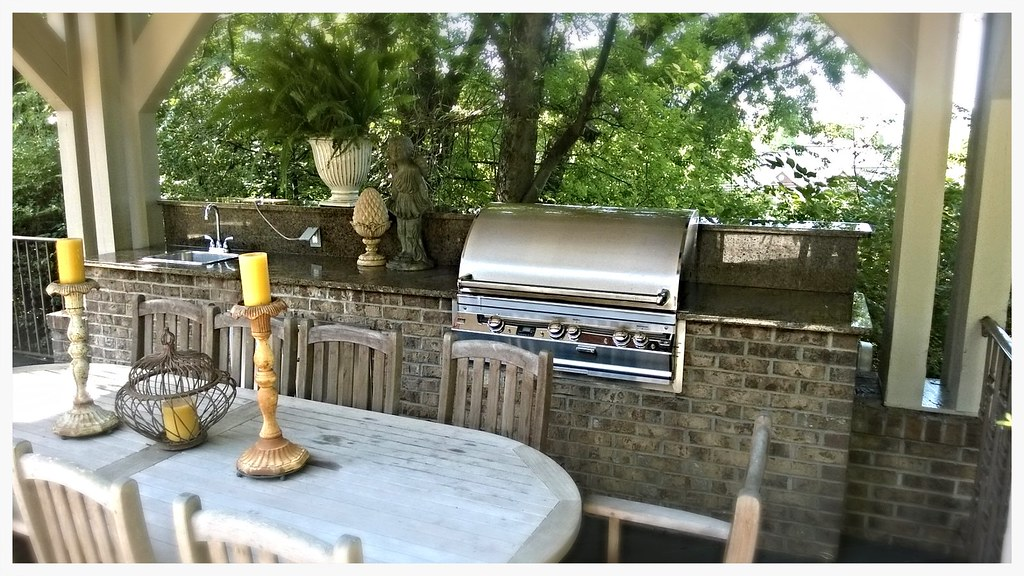 Custom Fire Magic Outdoor Kitchen, North Chattanooga, TN