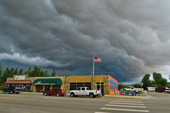 A storm is on the horizon. Pinedale, WY.