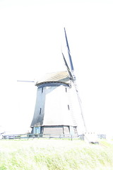 Windmühle 1 (Pinky0173) Tags: bw holland windmill canon sw highkey niederlande windmühle nordholland pinky0173 thrunfotografiede