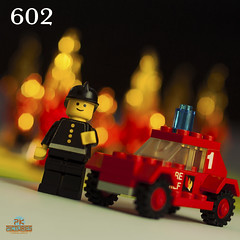 602 Fire Chief's Car - 1978 (Peter von Kappel) Tags: red classic car canon vintage fire 1 town lego bokeh chief flames retro 1978 pk 602 markii kappel pkpictures 602firechiefscar