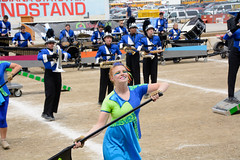 2015 Centerville - Band Day (WayNet.org) Tags: music track indianapolis statefair contest guard band indiana instrument marching marchingband centerville chs bandday indianastatefair waynecounty auxillary blueregiment centervillehighschool