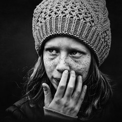 Naty (Marek Lampart) Tags: monochrome mc 50mm woman blackandwhite bw blackwhite cz czech kids nikon nikond5100 nikkor winter bestportraitsaoi elitegalleryaoi