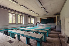 Chemistry Class (Timeless Seeker) Tags: lost decay abandoned urbex school