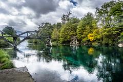 Broken Bridge (Mariano 57) Tags: friendlychallenges argentina nequen brid bridge reflection water nature landscape